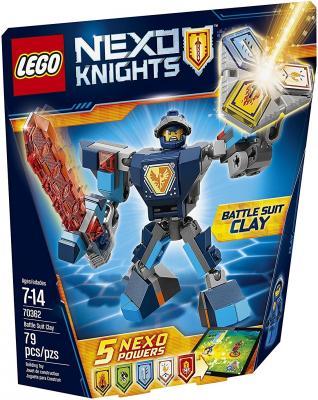 Конструктор Lego Nexo Knights Боевые доспехи Клэя 79 элементов 70362