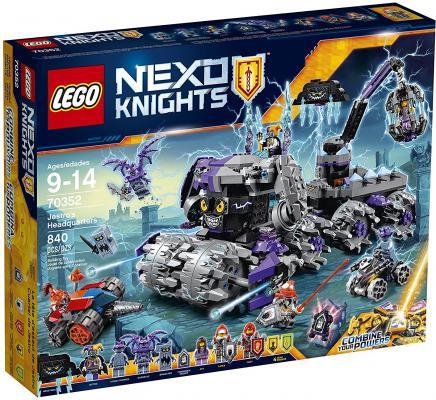 Конструктор Lego Nexo Knights Штурмовой разрушитель Джестро 840 элементов 70352