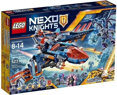 Конструктор LEGO Nexo Knights Самолёт-истребитель Сокол Клэя 523 элемента 70351