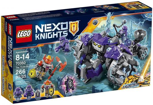 Конструктор LEGO Nexo Knights Три брата 266 элементов 70350