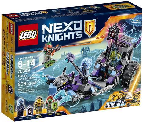 Конструктор LEGO Nexo Knights Мобильная тюрьма Руины 208 элементов 70349