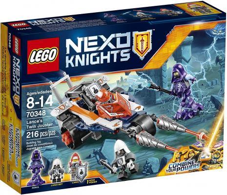 Конструктор LEGO Nexo Knights Турнирная машина Ланса 216 элементов 70348