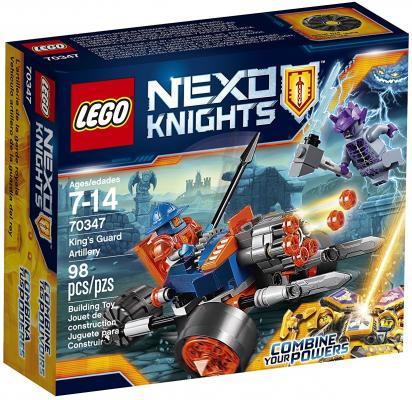 Конструктор LEGO Nexo Knights Самоходная артиллерийская установка королевской гвардии 98 элементов 70347
