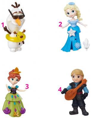 Игровой набор Disney Princess маленькие куклы Холодное сердце в ас-те C1096