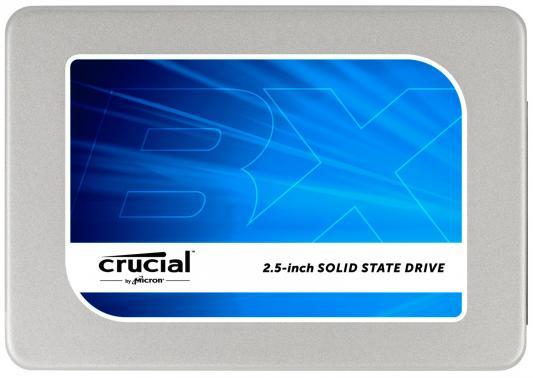"""Твердотельный накопитель SSD 2.5"""" 512GB Crucial BX200 Read 540Mb/s Write 490Mb/s SATAIII MTFDDAK512TBN-1AR1ZABYY накопитель ssd crucial micron 5100eco mtfddak960tby 1ar1zabyy 960гб 2 5"""