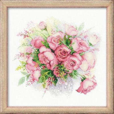 """Набор для вышивания Riolis """"Сотвори сама"""" - Акварельные розы от 7 лет"""