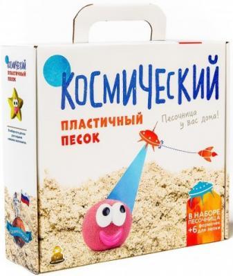 Космический песок Сиреневый 3 кг (песочница+Формочки) КП06С3ОН