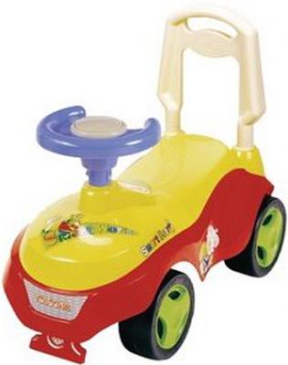 Каталка-машинка Shantou Gepai SP603B пластик от 3 лет на колесах разноцветный 603-B