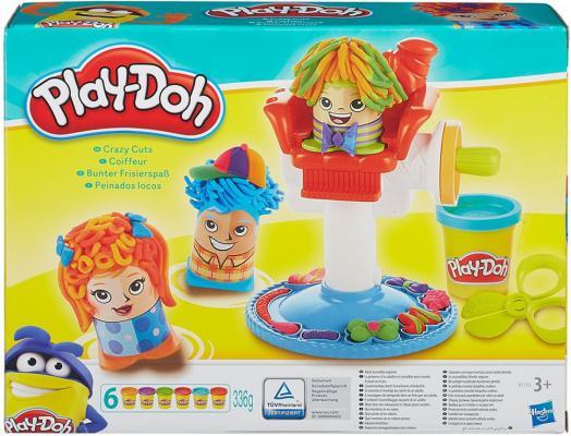 Набор для лепки Hasbro Play-Doh Сумасшедшие прически