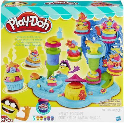 Набор для лепки Hasbro Play-Doh Карусель Сладостей