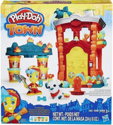 Набор для лепки Hasbro Play-Doh Город Пожарная станция