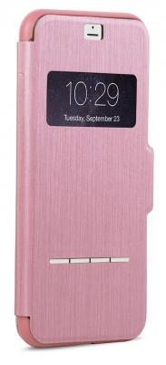Чехол Moshi SenseCover для iPhone 7 Plus розовый 99MO072308 чехол книжка moshi sensecover для apple iphone 6 plus 6s plus