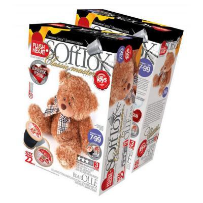 Набор для шитья Plush Heart Медведь Олле от 7 лет
