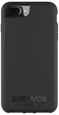 Чехол Griffin GB42815 для iPhone 7 Plus iPhone 6 iPhone 6S чёрный серый