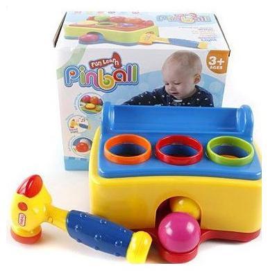 Развивающая игрушка Shantou Gepai Меткий молоточек 395 развивающая игрушки shantou gepai веселый зоопарк yq2979