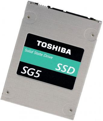 "SSD Твердотельный накопитель 2.5"" 512Gb Toshiba SG5 Read 545Mb/s Write 388Mb/s SATAIII THNSNK512GCS84PDGD"
