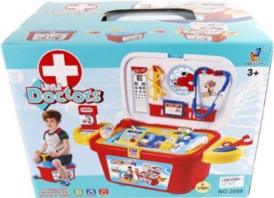 Игровой набор Shantou Gepai Каталка.Набор маленького доктора с аксесс., коробка