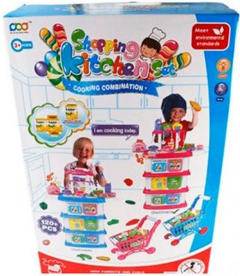 Игровой набор Shantou Gepai Повар с аксессуарами 6927714225335