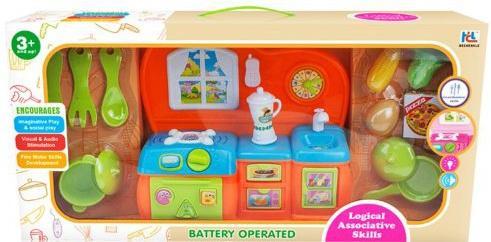 Игровой набор Shantou Gepai Современная кухня с посудой и продктами 6630