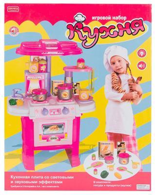 Игровой набор Shantou Gepai Кухня с посудой эл. ZYA-00115 набор инструментов shantou gepai 721 9 12 предметов
