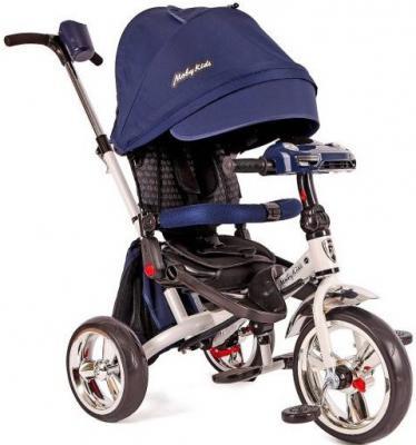 Велосипед Moby Kids Leader 12*/10* синий