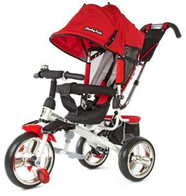 Велосипед Moby Kids Comfort -maxi 12*/10* красный