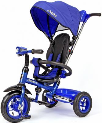 "Велосипед Moby Kids Junior-2 10""/8"" синий"