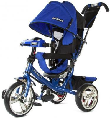 Велосипед Moby Kids Comfort 12*/10* синий 64947