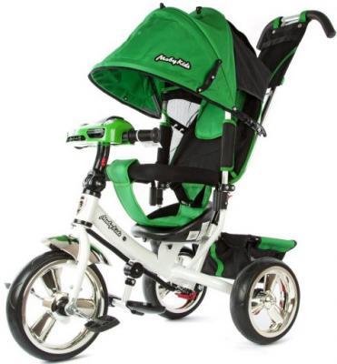 Велосипед Moby Kids Comfort 12*/10* зеленый 64948