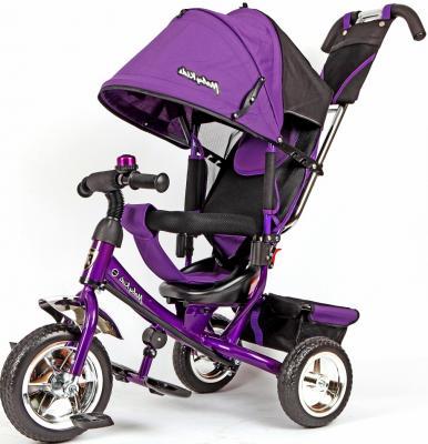 """Велосипед Moby Kids Comfort 10""""/8"""" фиолетовый"""