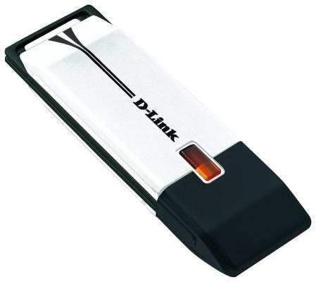 Беспроводной USB адаптер D-LINK DWA-160 802.11n 300Mbps 2.4 или 5ГГц DWA-160/RU/B2A
