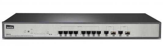 Коммутатор Netis PE6310 8 портов 10/100Mbps повторитель беспроводного сигнала netis e1 белый