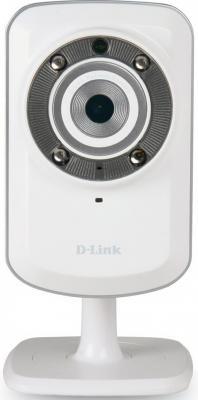 """Камера IP D-Link DCS-932L/B2A CMOS 1/5"""" 640 x 480 MJPEG RJ-45 LAN Wi-Fi белый"""