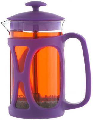 Френч-пресс Maxwell Artlife ML-724(VT) фиолетовый 0.6 л пластик/стекло