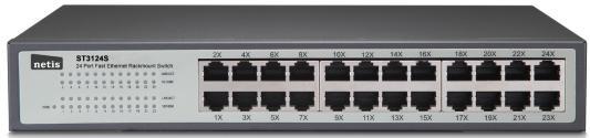 все цены на Коммутатор Netis ST3124S 24 порта 10/100 Mbps