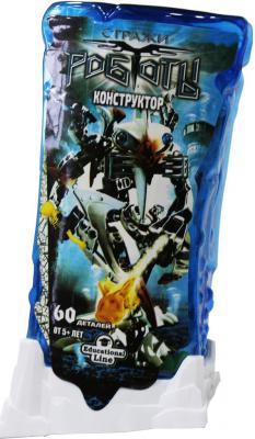 Конструктор Город игр RoboBlock Серый Воин M 60 элементов