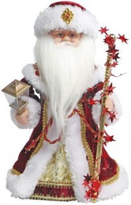 Дед Мороз Новогодняя сказка в красном 30 см, мех., муз., песня В лесу родилась елочка 972605 мягкие игрушки новогодняя сказка кукла дед мороз 45 см серебро