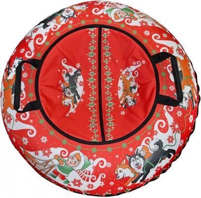 Тюбинг RT Эксклюзив ХАСКИ + автокамера, диаметр 100 см до 120 кг разноцветный ПВХ 6284