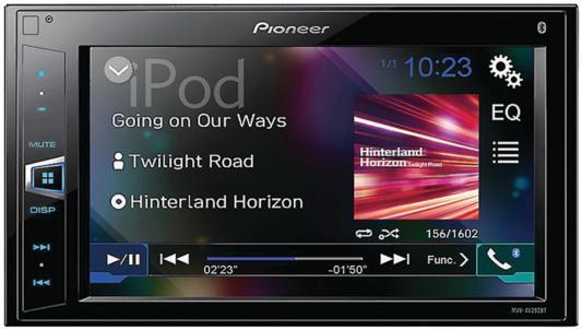 """Автомагнитола Pioneer MVH-AV290BT 6.2"""" 800х480 USB MP3 FM RDS 2DIN 4x50Вт черный"""