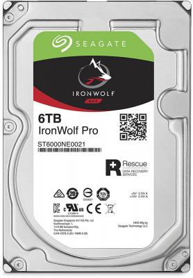 Жесткий диск 3.5 6 Tb 7200rpm 256Mb cache Seagate Ironwolf Pro SATAIII ST6000NE0021 400 gb 7200rpm 8mb cache seagate 7200 8 st3400832as ncq