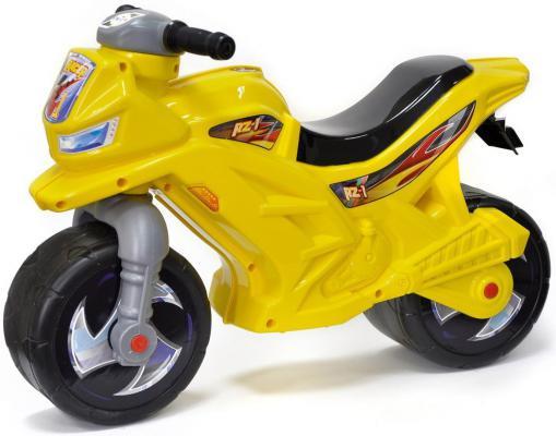 Каталка-мотоцикл RT Racer RZ 1 желтый ОР501в3