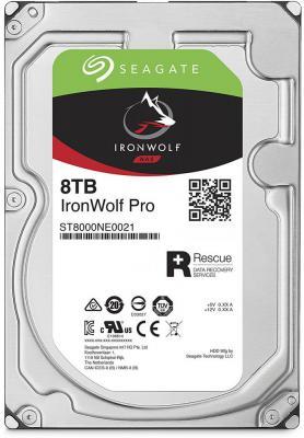 """Жесткий диск 3.5"""" 8 Tb 7200rpm 256Mb cache Seagate Ironwolf Pro SATAIII ST8000NE0021"""