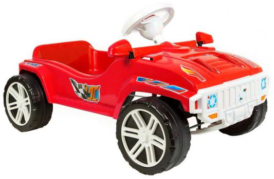 Машина педальная RT RACE MAXI Formula 1 цв. красный ОР792 педальная машина pilsan tractor цвет красный 07 314
