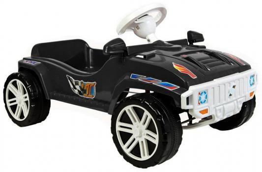Машина педальная RT RACE MAXI Formula 1 цв. чёрный ОР792 педальная машина pilsan tractor цвет красный 07 314