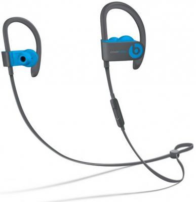 где купить Наушники Apple Powerbeats3 Wireless Earphones синий MNLX2ZE/A дешево