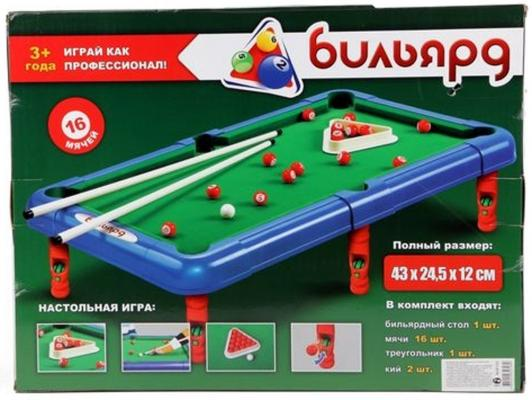 Настольная игра логическая Shantou Gepai Бильярд 2264 настольные игры shantou gepai логическая игра змейка малая 24 элемента
