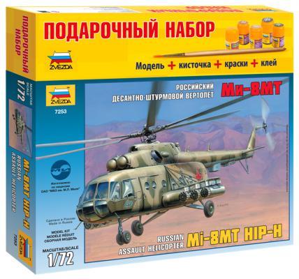 Вертолёт Звезда Ми-8МТ 1:72 хаки