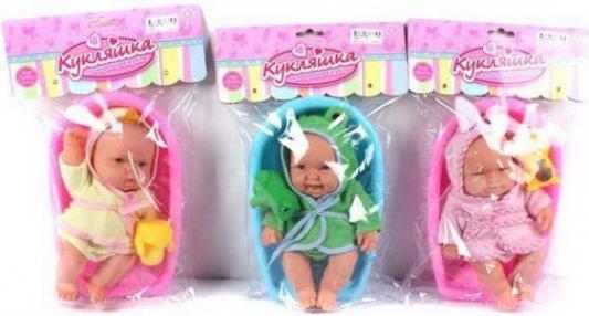 Пупс Shantou Gepai в ванночке серия Кукляшка с аксес-ми, 26см.