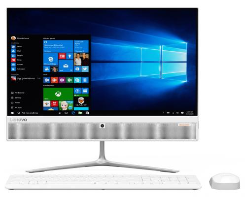 "Моноблок 21.5"" Lenovo IdeaCentre 510-22ISH 1920 x 1080 Intel Pentium-G4400T 6Gb 1Tb Intel HD Graphics 510 Windows 10 Home белый F0CB00HSRK"