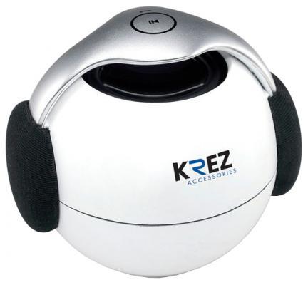 Портативная акустика Krez AB-111 белый